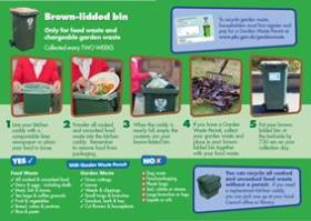 A guide to using the Food and Garden Waste Recycling Service is available