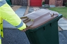 Your brown-lidded bin is collected by bin crews from 7:30am onwards