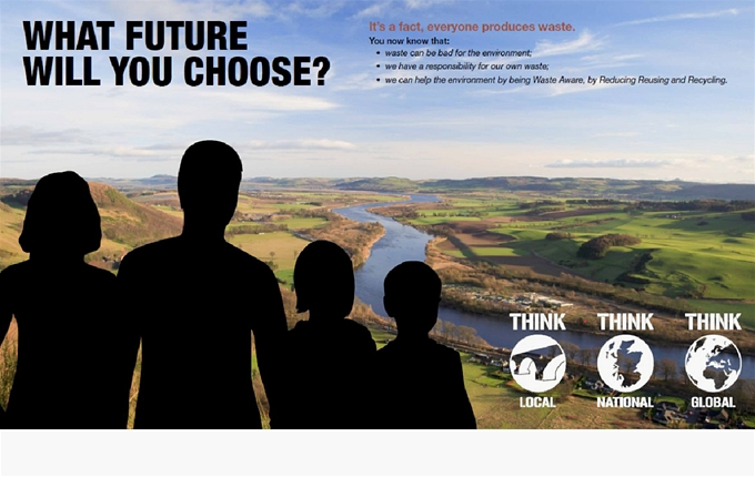 At the end of your visit today, we ask what future will we choose for Perth and Kinross?