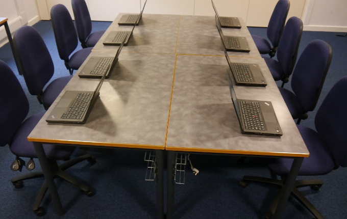 ICT Meeting Room - Laptops