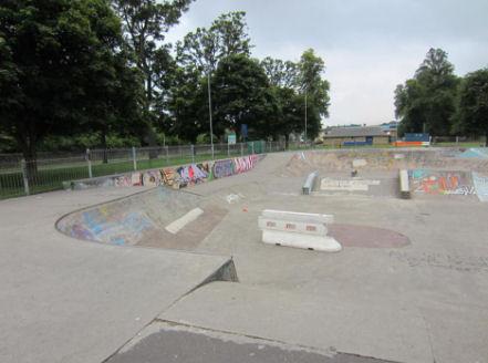 Lesser Inch skatepark