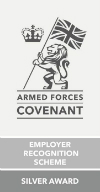 Silver Award in the Armed Forces Employer Recognition Scheme